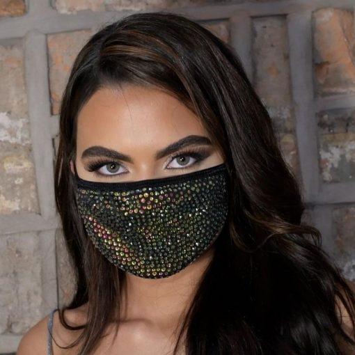 Diamond Face Cover